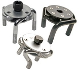 Three leg oil filter wrenches