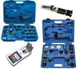 Tools for radiator pressure and cooling system testing