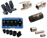 Special sockets, wrenches