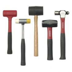Hammers, sledge hammers, wedges, hammers for body repairers, Axe handles, rubber hammers