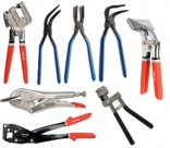 HAND SEAMERS, Edge Setter Pliers for Metal Sheets